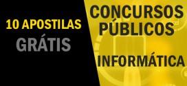 10 apostilas grátis de Informática para Concursos Públicos